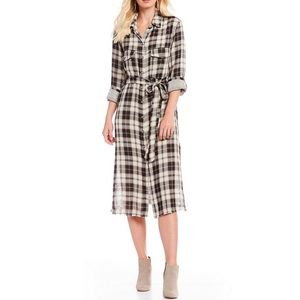 ⭐️Sanctuary Boyfriend for Life Midi Shirt Dress